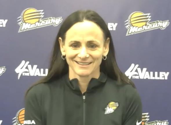 Head Coach Sandy Brondello